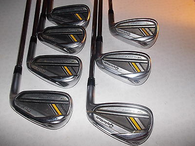 TAYLORMADE RBLADEZ IRONS 4-PW  -  REGULAR FLEX    Great Condition