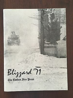Blizzard '71 The London Ontario Free Press Booklet