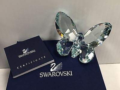 Swarovski Crystal Butterfly Figurine Paperweight Colored Light Azore 855762 Mib