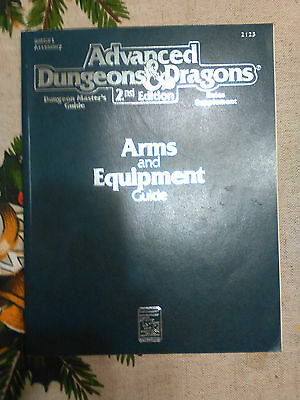 Dungeons and Dragons: 2nd edition Arms and Equipment Guide