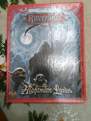 Dungeons and Dragons: 2nd edition Ravenloft, Nightmare Lands