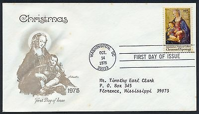 UNITED STATES OF AMERICA 1975 FIRST DAY COVER USA FDC #a453 WASHINGTON CANCEL!