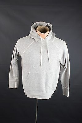 Vtg 50s BVD 100% Cotton Hoodie Gray Sweatshirt sz S/M 1950s-1960s #1568 Hooded