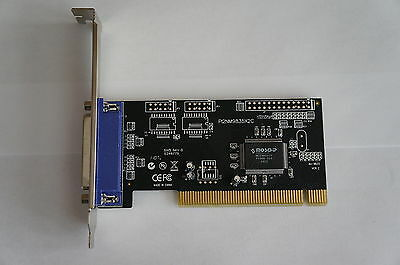 Rosewill RC-302 - Low-Profile PCI Card - Single Parallel (SPP / PS2 / EPP)
