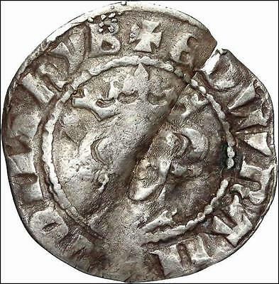 *HHC* ENGLAND. Edward I Hammered Silver Penny, London (SKU #O1-22)
