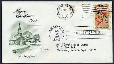 UNITED STATES OF AMERICA 1975 FIRST DAY COVER USA FDC #a458 WASHINGTON CANCEL!