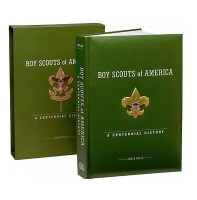 BOY SCOUTS OF AMERICA A CENTENNIAL HISTORY COLLECTORS BOOK w CD POSTER REPLICAS