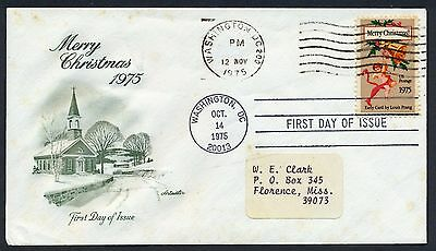 UNITED STATES OF AMERICA 1975 FIRST DAY COVER USA FDC #a459 WASHINGTON CANCEL!