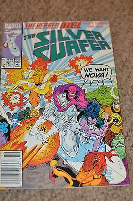 Marvel Comics Silver Surfer vol 3 issue 72 FN