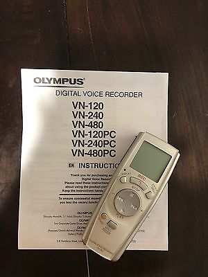 Olympus VN-480 Digital Voice Recorder Dictaphone FREE SHIPPING