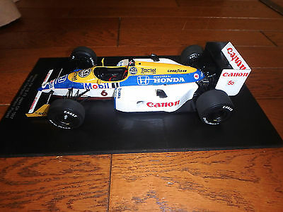 1/18 FW11B WILLIAMS 1987 WORLD CHAMPION PIQUET (no box - surplus model) by SPARK