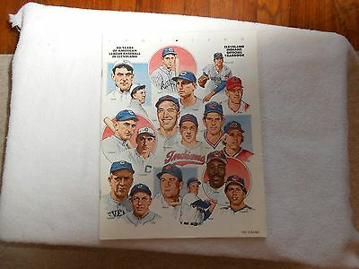 1901-1990 Cleveland Indians Official Yearbook Baseball