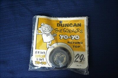 Vintage DUNCAN BEGINNERS YO YO No. 44 Red And Black