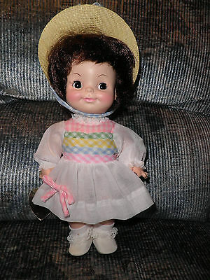 "Effanbee Vintage 12"" Half pint Doll - w/ Original Clothes and Hang Tag - Minty!"
