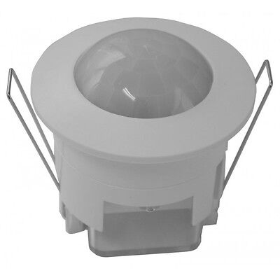 MATelec - Flush / Recessed Ceiling Sensor 360 degree - White
