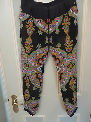 Kachel Cleopatra Print pants size 8 Brand new with tags