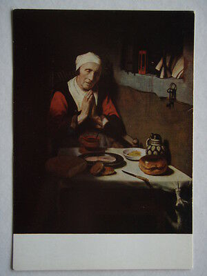 Nicolaes Maes Old Woman In Prayer Without End Postcard