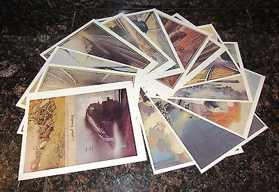 NEW YORK CENTRAL Calendar  PRINTS 16 Color NYC Staufer Train Railroad