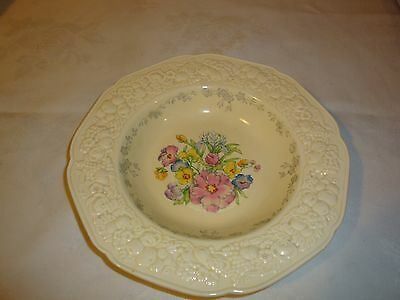 Crown Ducal Florentine Wide Rimmed Soup Bowls