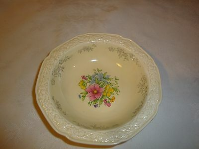 Crown Ducal Florentine Fruit Or Nappy Bowls