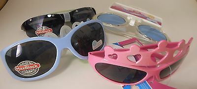 New Kids Designer Childrens Girls Sunglasses 4 Piece Set