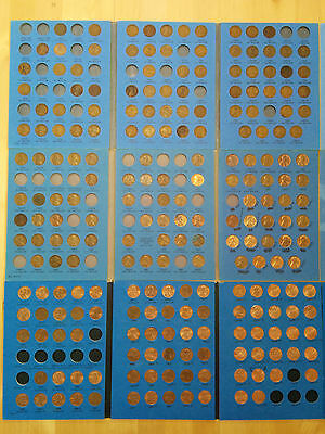 Lincoln Head Cent Collection, 1909 - 2012, 195 Coins Included with Key Dates