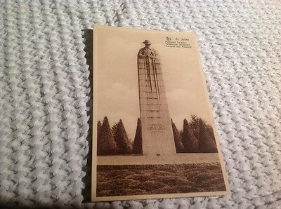postcard, canadian war memorial vintage