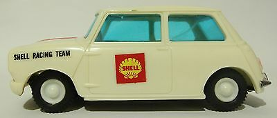 Vintage Shell Racing Team Mini Cooper Friction Car Rare! Lincoln International