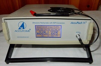 Accutome AccuPach V pachymeter with new probe