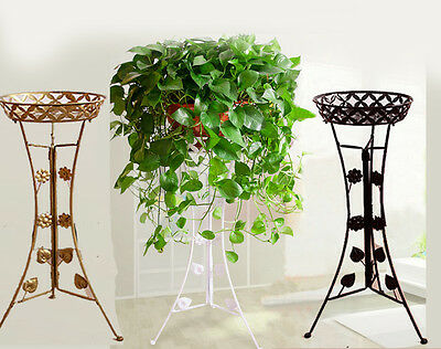 Elegant 3color  Metal Plant Stand / Flower Pots Shelf Unit