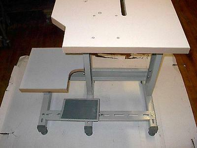 Sewline New  Three  Leg Table Set For  Many Styles  Of Industrial Sewing Machine