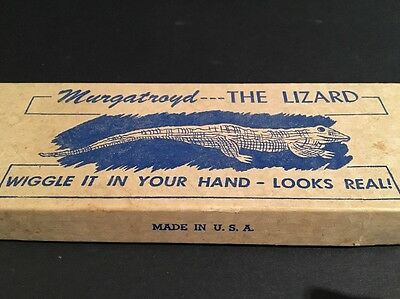 Vintage Toy | Murgatroyd the Lizard | Made in USA | Franco Product