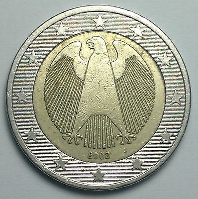 2002 Germany 2 euros coin