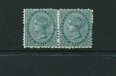 1/- First Side Face perf 10 pair, fresh, fine & rare