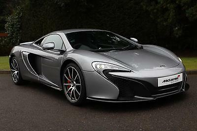 2017 McLaren 650S V8 with Sport and Security Pack (VAT Qualifying) Petrol silver