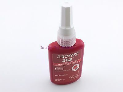 Loctite 263 LARGE 50 ML Bottle Threadlocker RED