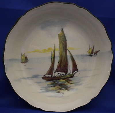 "Royal Doulton SeriesWare Bowl -  ""Ships A"" -  True antique up to 110 years old."