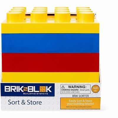 Lego / Blocks sort and store container with handle