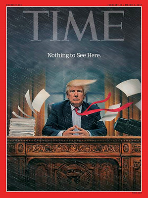 Time Magazine - Double Issue 27 February / 6 March 2017 - DONALD TRUMP