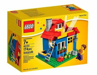 "LEGO 40154 Stationery Iconic Pencil Pot ""Brand new in box"""
