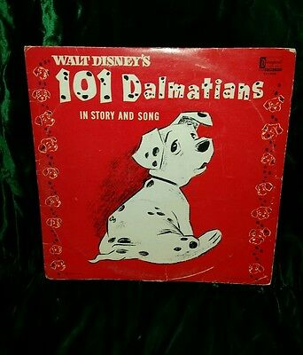 Walt Disney's 101 Dalmations In Story and Song LP 1963