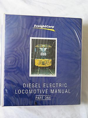 FreightCorp Diesel Electric locomotive Manual Part 1