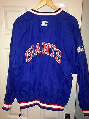 New York Giants Jacket Vintage Starter NFL American Football