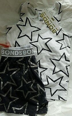 Bonds size 6 pyjamas silver star, summer, rare, $39.95 RRP
