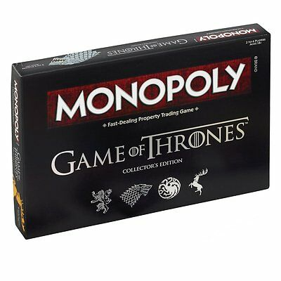 Monopoly Game Of Thrones Collector's Edition - Brand new!