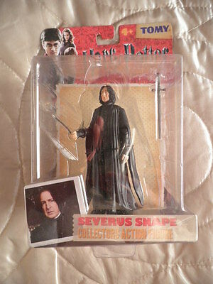 Severus Snape Collectors Action Figure Harry Potter & The Deathly Hallows Tomy