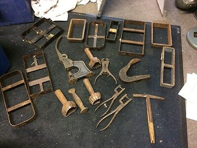 Leatherworking Tools Good Collection And Free Postage