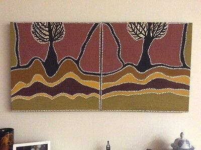 Aboriginal Art painting by Phyllis Thomas