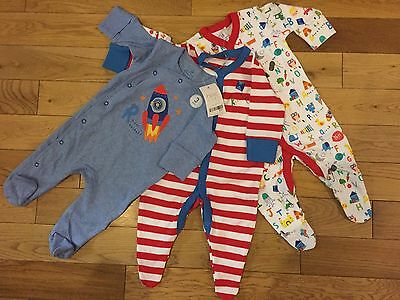Baby Boy Next Sleepsuits Baby grows (size upto 3 Months)