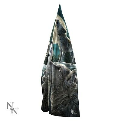 Beautiful 'WOLF SONG' SCARF: Lisa Parker Design: Nemesis Now - NEW
